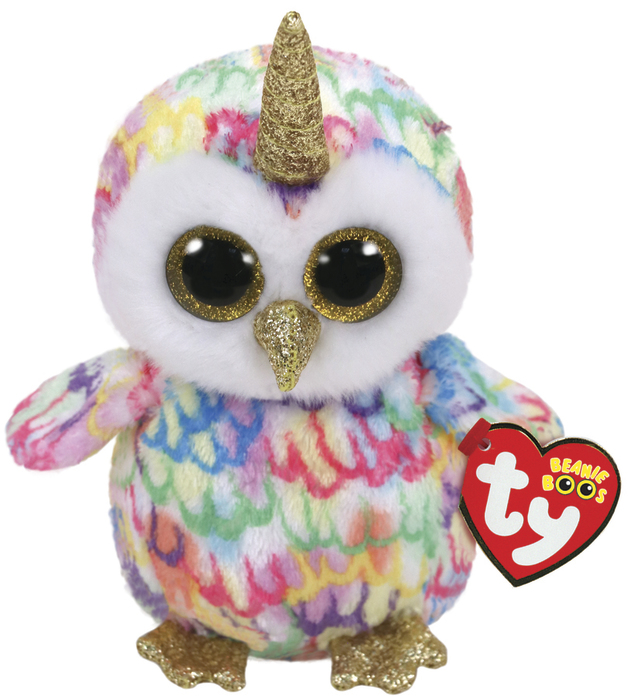 Ty Beanie Boo: Enchanted Owl - Small Plush