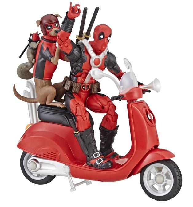 "Marvel Legends: Deadpool Scooter - 6"" Vehicle Playset"