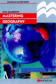 Mastering Geography by Paul Ganderton image