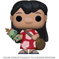 Lilo & Stitch: Lilo (with Scrump) - Pop! Vinyl Figure