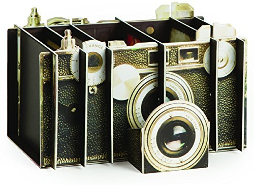Artful Organizer: Vintage Camera Desk Tidy by Chronicle Books