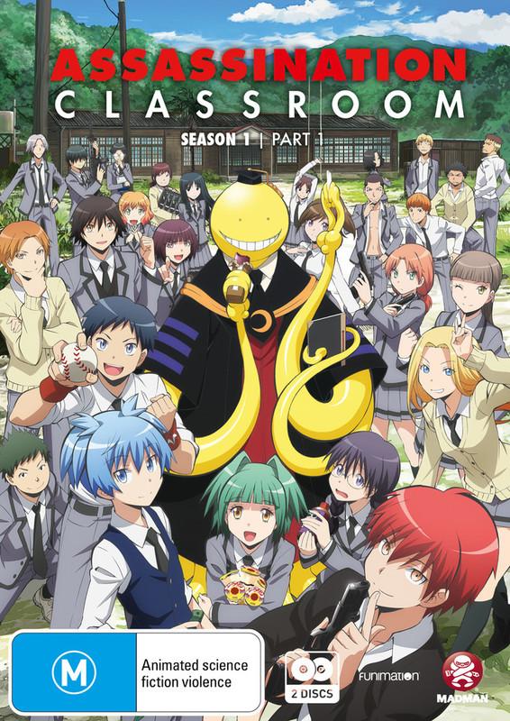 Assassination Classroom - Part 1 on DVD
