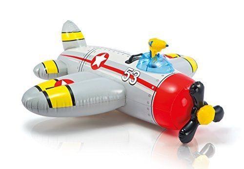Intex: Water Gun Plane Ride-On - Grey image