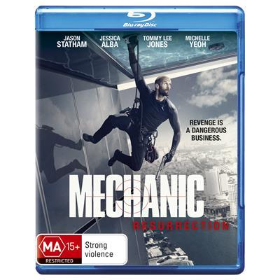 Mechanic: Resurrection on Blu-ray