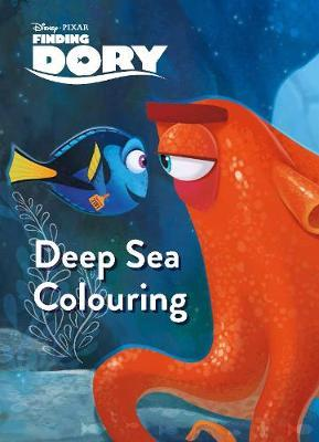 Disney Pixar Finding Dory Deep Sea Colouring by Parragon Books Ltd