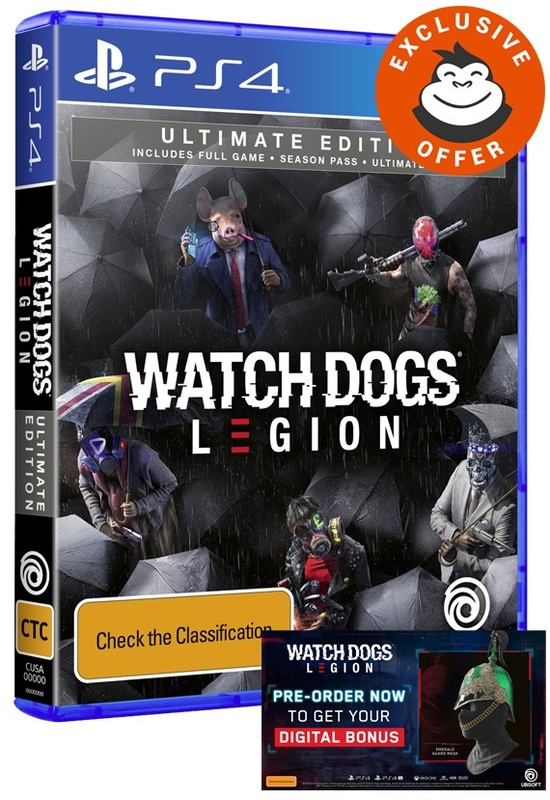 Watch Dogs Legion Ultimate Edition for PS4