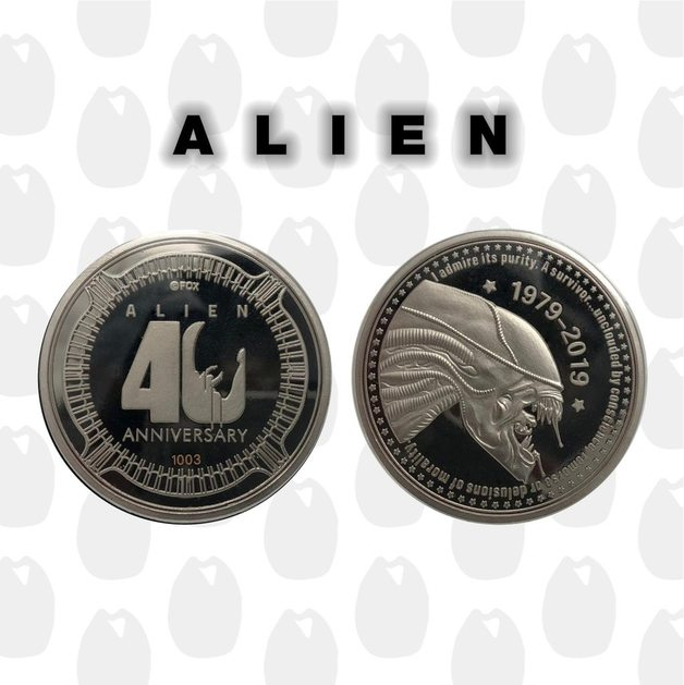 Alien: Collectable Coin - 40th Anniversary