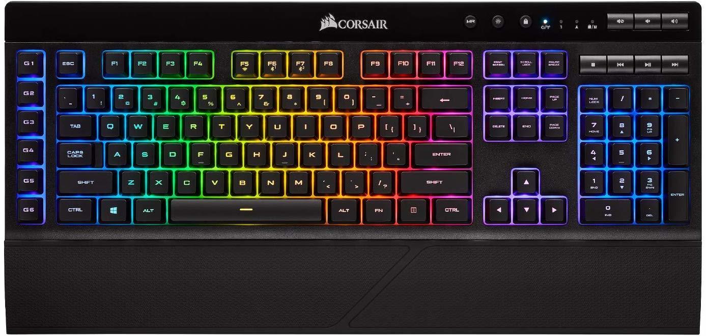 Corsair K57 Wireless RGB Gaming Keyboard for PC image