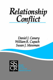 Relationship Conflict by Daniel J Canary