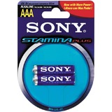 Sony AAA Alkaline Stamina Plus Battery 2pack