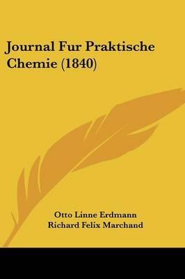 Journal Fur Praktische Chemie (1840) image