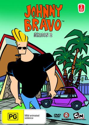 Johnny Bravo: Season 2 on DVD