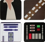 Star Wars Simple Shapes Coaster Set