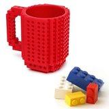 Build on Brick Mug - Red