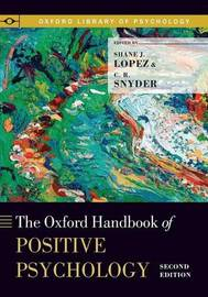The Oxford Handbook of Positive Psychology image