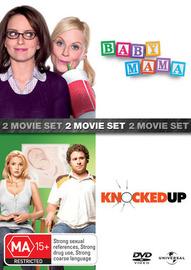 Baby Mama / Knocked Up - 2 Movie Set (2 Disc Set) on DVD