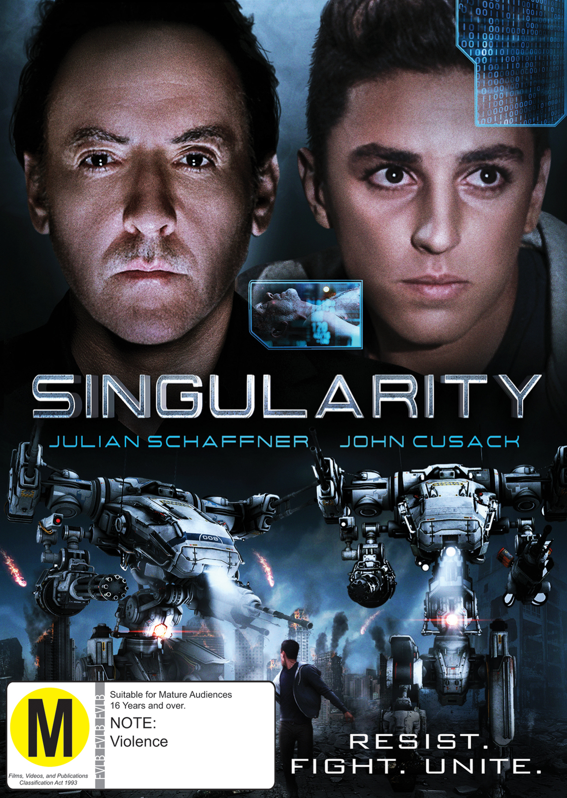 Singularity on DVD image