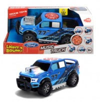 Dickie Toys: Music Truck - Lights & Sounds Vehicle