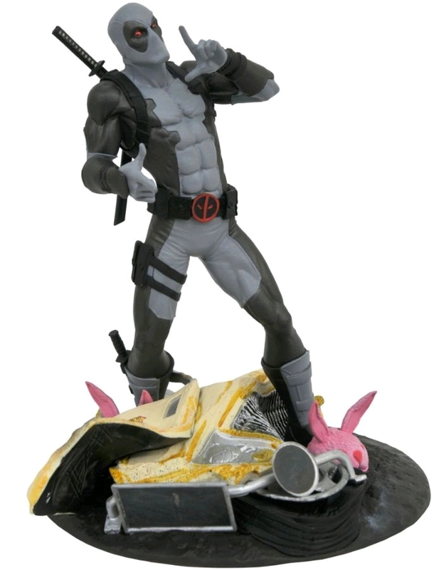 "Marvel Gallery: X-Force Deadpool (Taco-Truck) - 10"" Collectors Statue (SDCC-2019)"