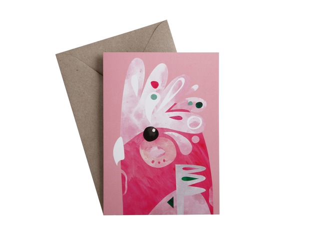Pete Cromer: Greeting Card - Galah