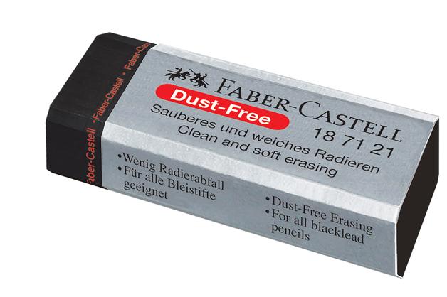 Faber-Castell: Dust Free Eraser Large - Black