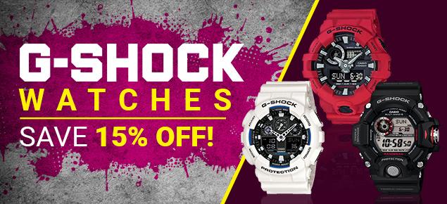 G-Shock Deals!