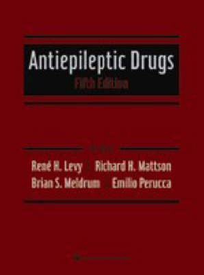 Antiepileptic Drugs by Rene H. Levy image