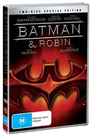 Batman and Robin - Special Edition on DVD