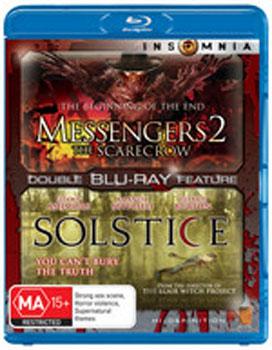 Messengers 2: The Scarecrow + Solstice (bonus movie) on Blu-ray image