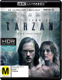 The Legend of Tarzan (4K UHD + Blu-ray + UV) DVD