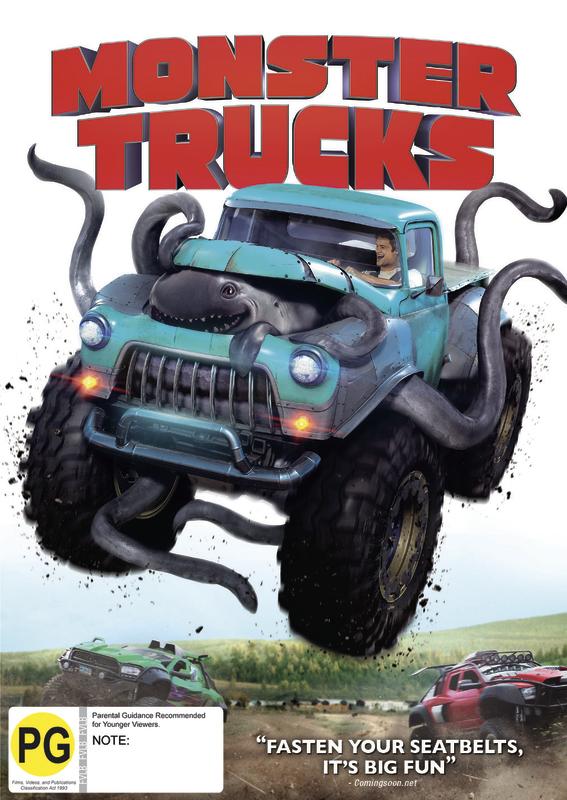 Monster Trucks on DVD