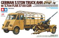 Tamiya: 1/35 German 3.5ton Truck AHN - w/3.7cm Flak 37 AA Gun