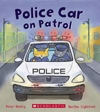 Police Car on Patrol by Peter Bently