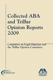 The Collected Aba and Tribar Opinion Reports 2009 image