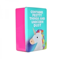 Jolly Awesome: Storage Tin - Unicorn