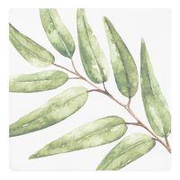 Botanical Ceramic Coaster - Palm Leaf