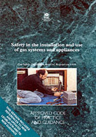 Safety in the Installation and Use of Gas Systems and Appliances by Health and Safety Executive (HSE) image