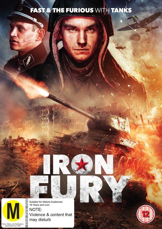Iron Fury on DVD