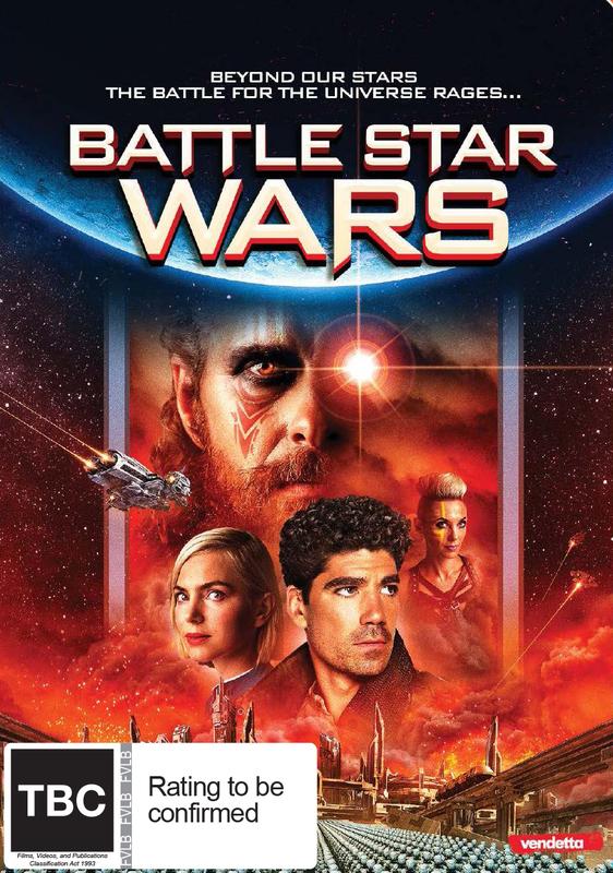 Battle Star Wars on DVD