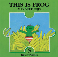 This is Frog Jigsaw Book by Max Velthuijs image