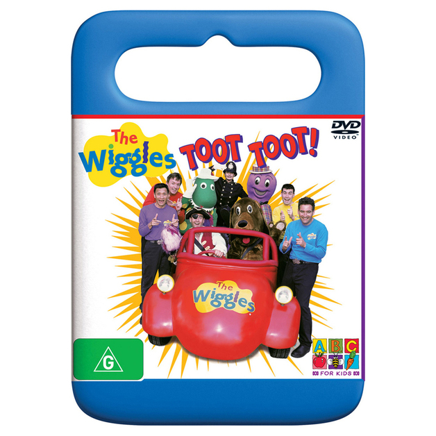 The Wiggles - Toot Toot on DVD