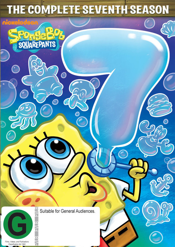 Spongebob Squarepants Season 7 on DVD