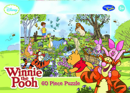 Winnie the Pooh 60 Piece Jigsaw Puzzle Puzzle - Picked Just For You