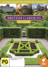 British Gardens in Time on DVD
