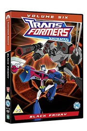Transformers Animated: Volume 6 - Black Friday on DVD image