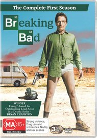 Breaking Bad - The Complete First Season on DVD