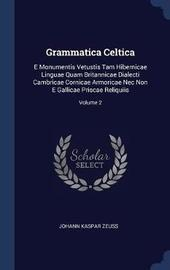 Grammatica Celtica by Johann Kaspar Zeuss image