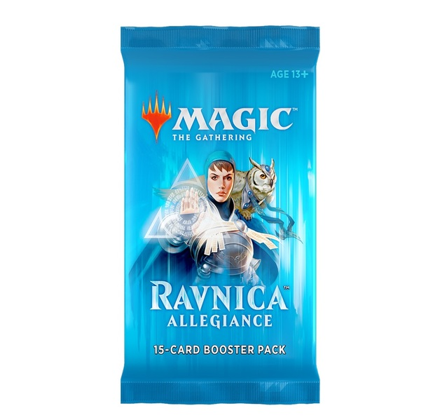 Magic The Gathering: Ravnica Allegiance Single Booster (15 Cards)