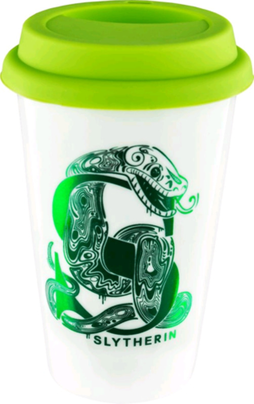 Harry Potter : Slytherin Foil Logo Keep Cup