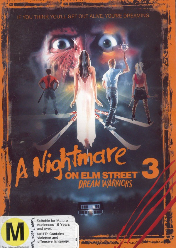 Nightmare On Elm Street 3, A: Dream Warriors on DVD image
